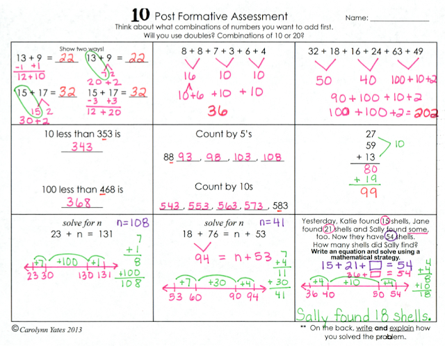 https://www.teacherspayteachers.com/Product/Common-Core-Math-Mental-Math-StrategiesFormative-AssessmentsOpen-Number-Line-1000936