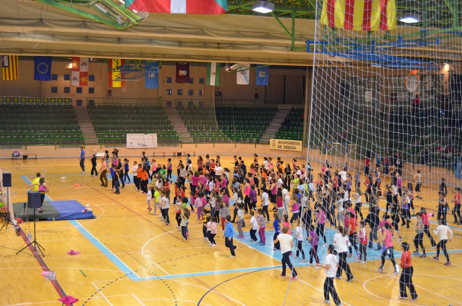 Zumba Ociobaile Segovia Eventos 2014