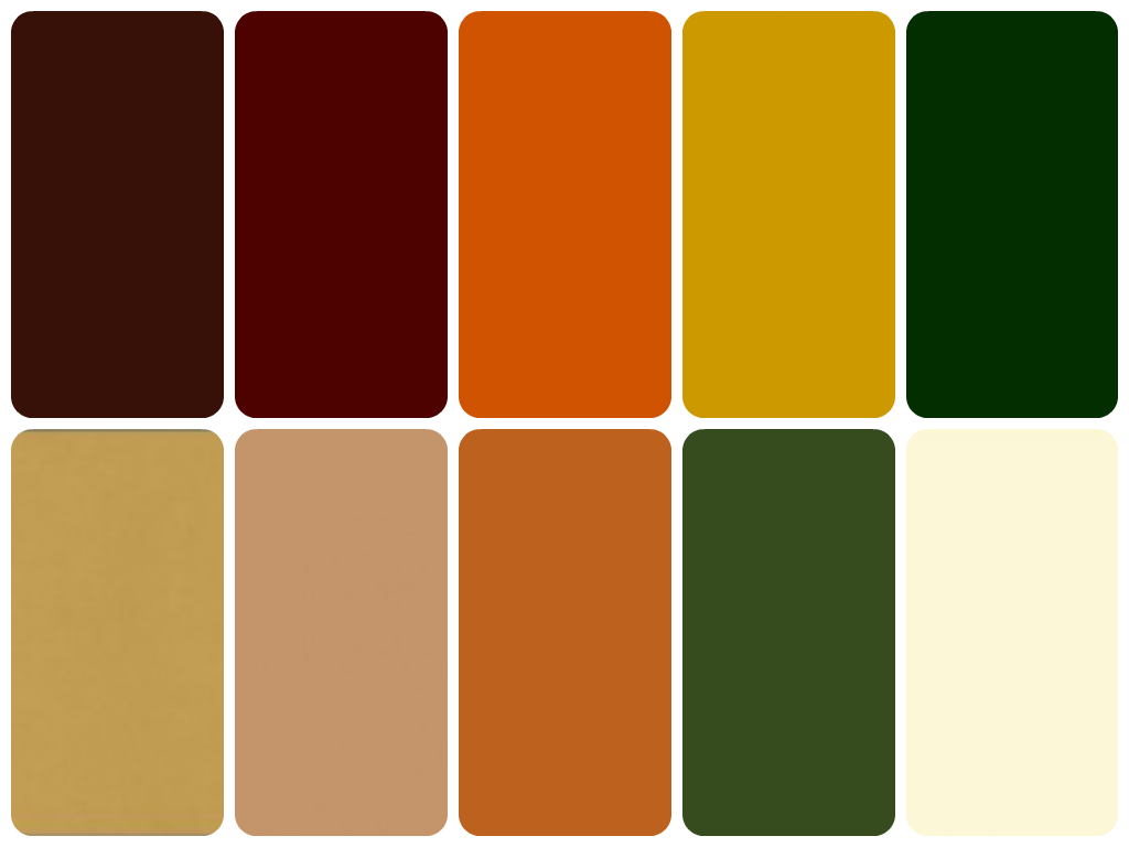 Earthy Colors reel style hq: how to pick colours for an autumn skin tone season