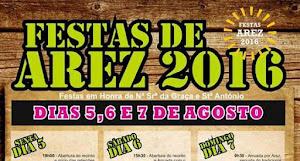 AREZ (NISA): FESTAS DE AREZ 2016