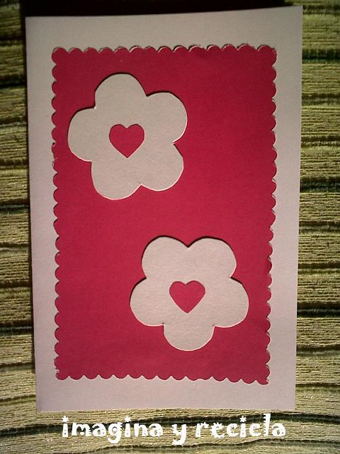 ☆ imagina y recicla ☆: tarjeta San Valentín