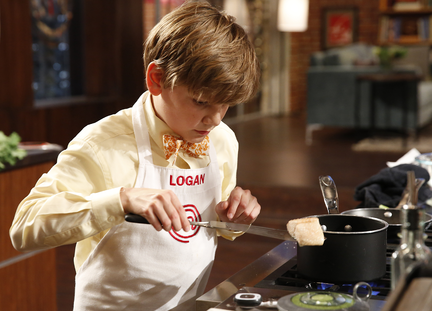 Logan MasterChef Junior Salmon Memphis Cook Recipe