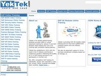 Yektek: Sap Online Training