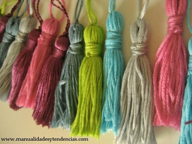 DIY borlas / tassels / pompons