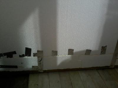 Утеплитель пенопласт на балконе