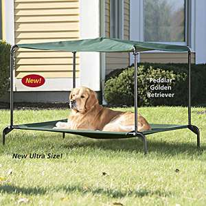 Dogbeds - Outdoor dog beds with canopy ...