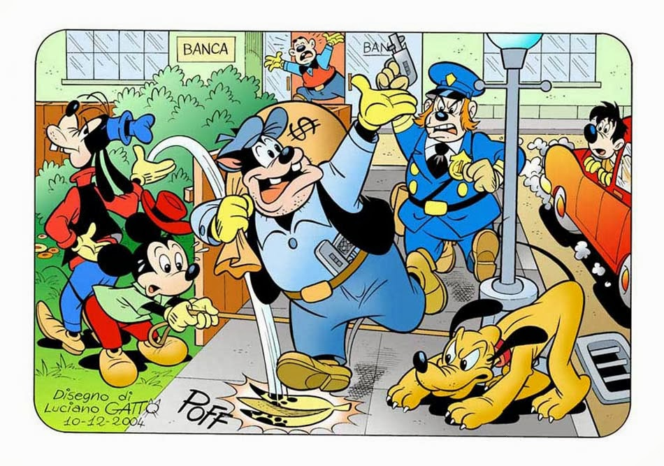 MICKEY E PATETA BY LUCIANO GATTO