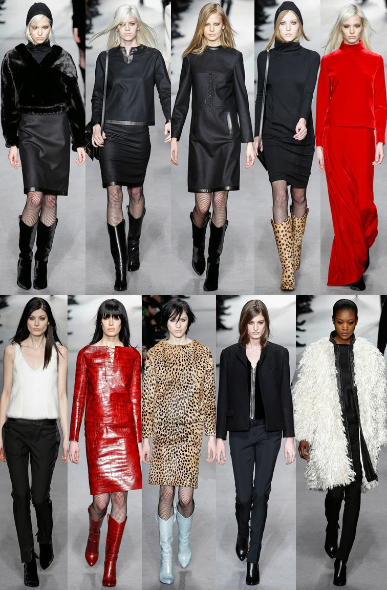 Tom Ford fall winter 2014 runway collection, FW14, AW14, LFW, London fashion week