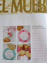NUESTRAS  GALLETAS EN LA REVISTA EL MUEBLE