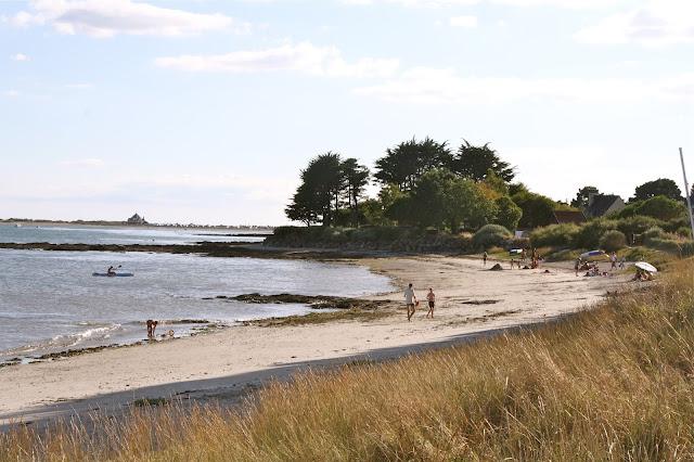 Brittany France, seaside, summer holidays,