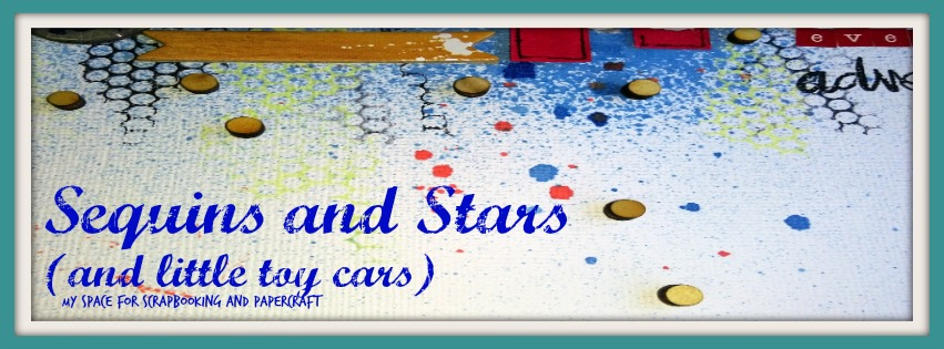 Sequins and Stars {and little toy cars}