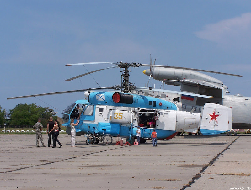 Ka-27 Helix Anti-Submarine Helicopter