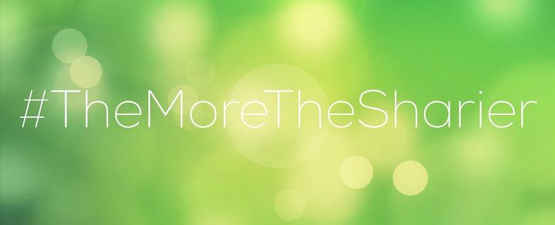 #TheMoreTheSharier