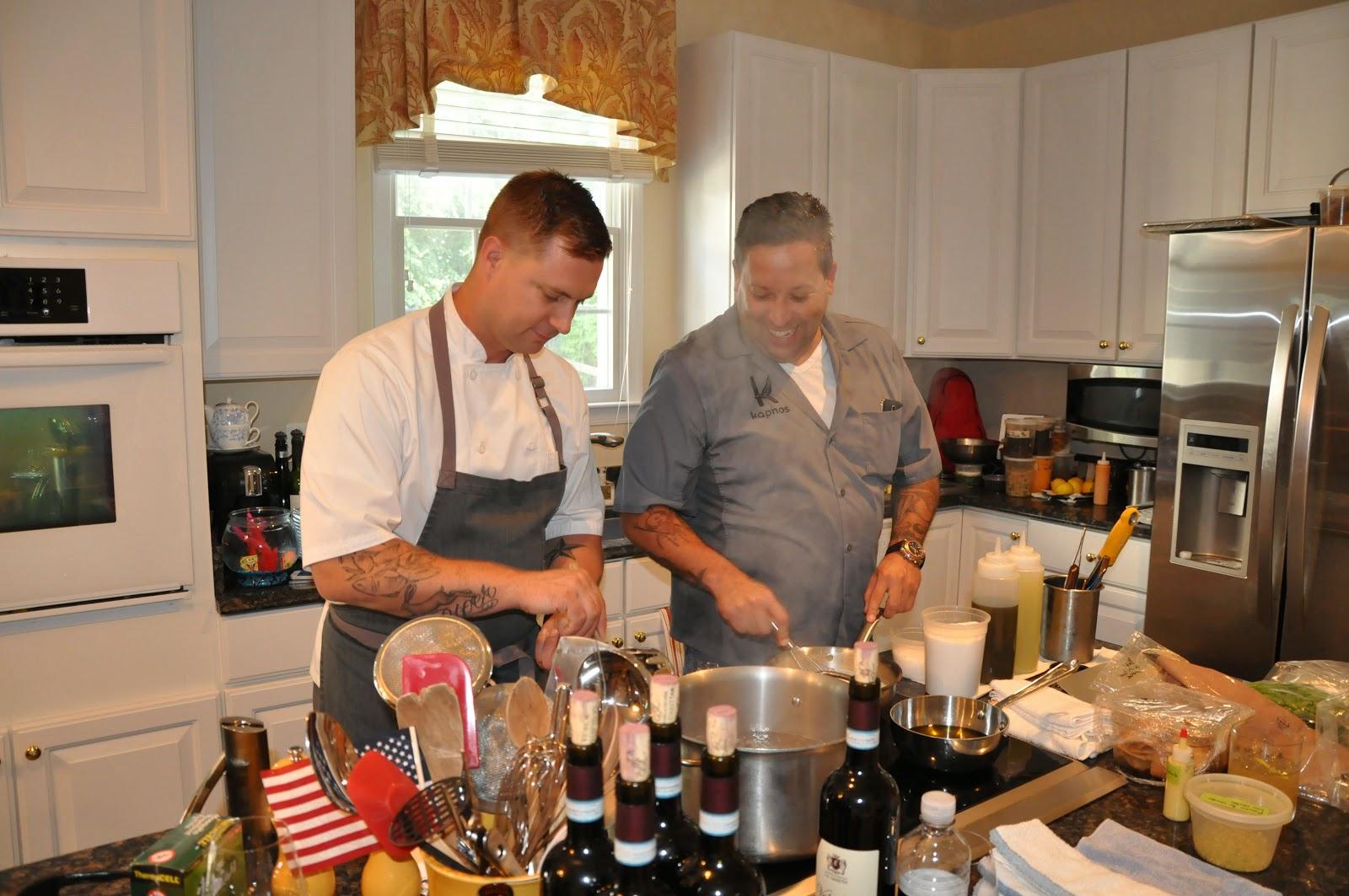 Mike Isabella and Bryan Voltaggio