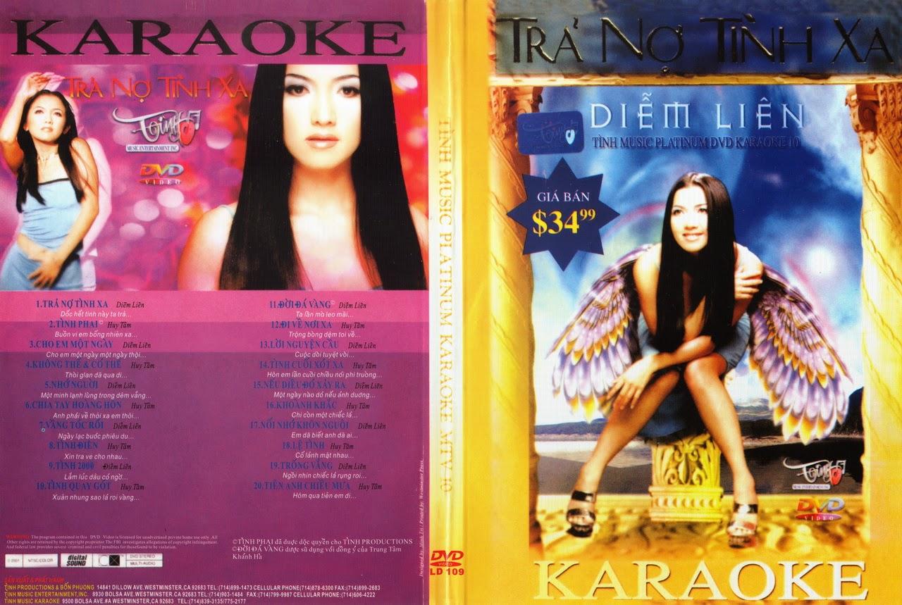 [Karaoke] Tình Music Platinium Karaoke-Diễm Liên-Trả Nợ Tình Xa [DVD5.ISO]