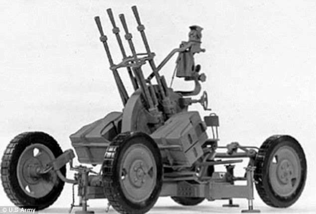 Anti-aircraft Gun North Korea to Show Anti-aircraft Guns