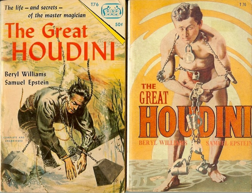 a summary of the great houdini a book about the magician ehric weiss