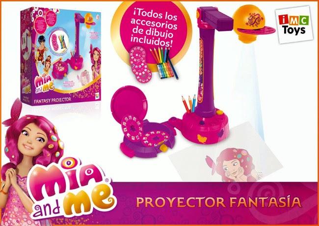 JUGUETES - MIA AND ME - Proyector Fantasía   Mia y yo | IMC Toys 172005 | Dibujo - Manualidades  Producto Oficial de la serie | A partir de 3 años