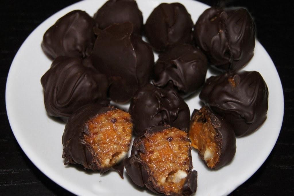 Как сделать сухофрукты в шоколаде