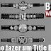 Blood Wrestling Presents: Como fazer seu belt da WWE