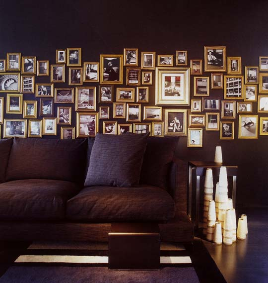 how to build movable art gallery walls