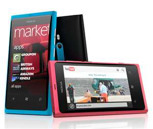 nokia lumia 800 windows based smartphone