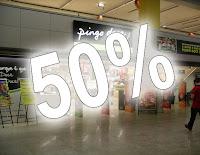 Pingo Doce - 50% desconto