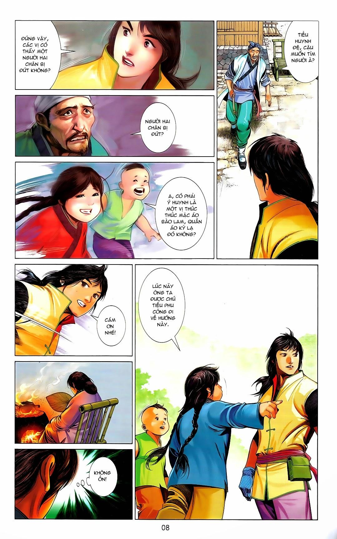 Phong Vân chap 669 Trang 8 - Mangak.info