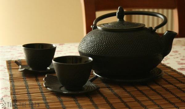 servizio da tè in ghisa di Maisons Du Monde