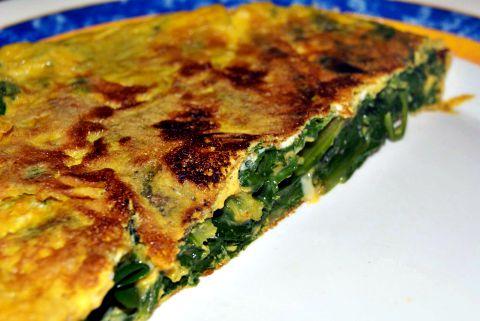 Tortilla de Acelgas a la Hortelana