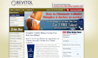 revitol web page screen shot