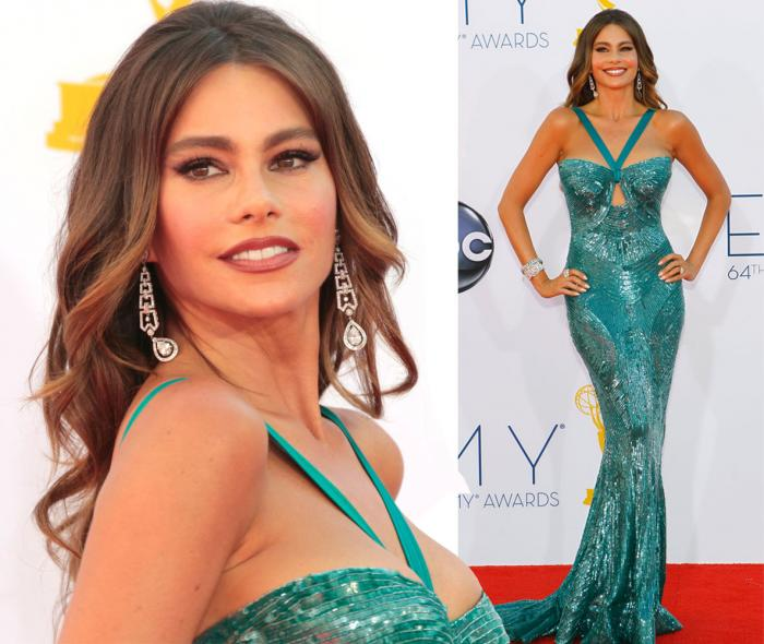 Sofia Vergara, emmy awards 2012