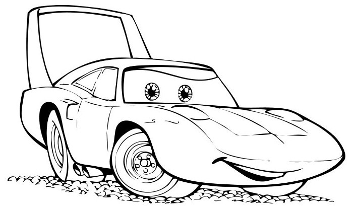 Carros para colorir - Relâmpago Mcqueen | (example: Best Theme)