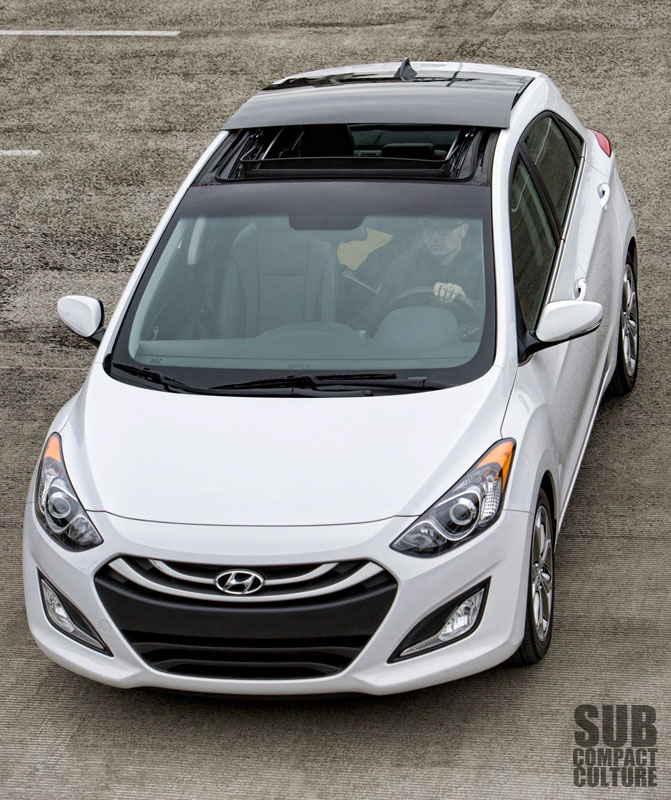 Driving The 2013 Hyundai Elantra GT