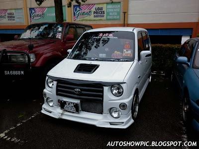 Perodua Kenari Move Bodykit