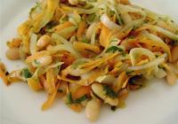 Salada Morna de Feijão Branco (vegana)