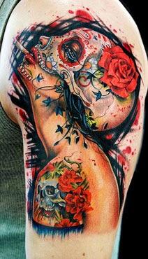 Significado das tatuagens de caveiras
