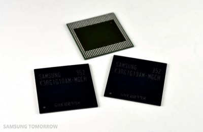 Samsung Garap DRAM LPDDR4 8Gb untuk Smartphone Premium
