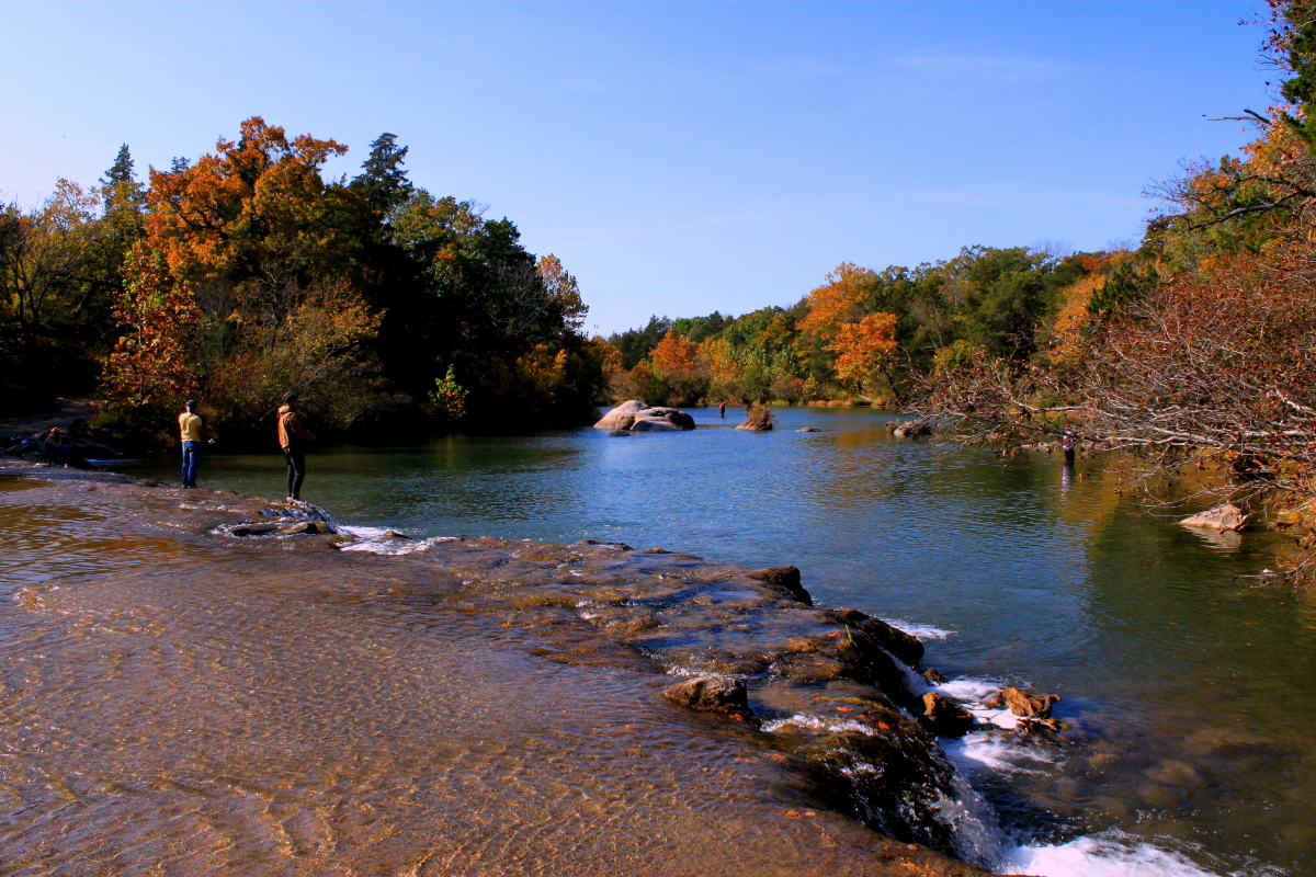 Blue river oklahoma trout related keywords blue river for Trout fishing oklahoma