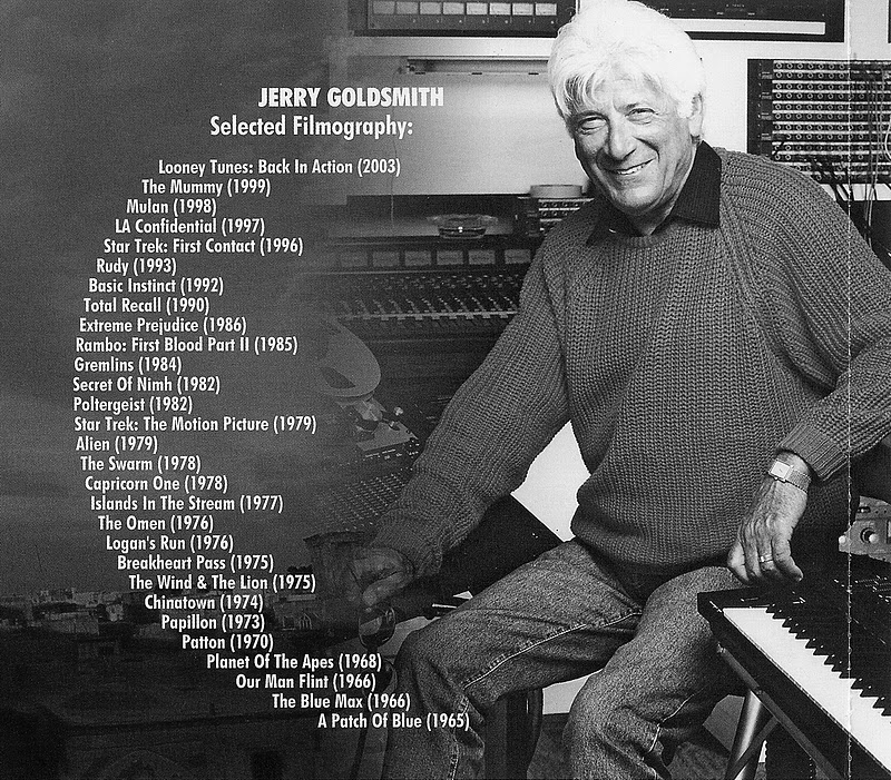 Jerry Goldsmith - The Spiral Road