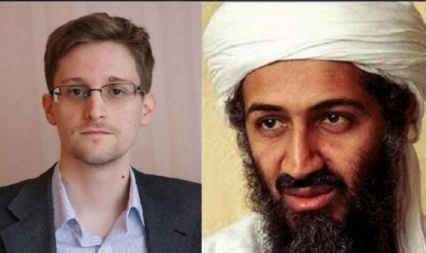 Ο Snowden ισχυρίζεται οτι ο Οσάμα Μπιν Λάντεν είναι ακόμα ζωντανός και ζει με μισθό της cia!