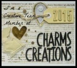 I am a creative team member for Charms Creations