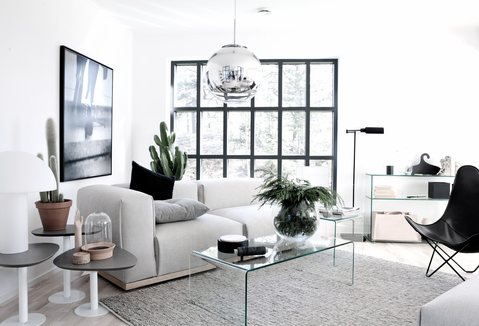 Kleur interieur een licht en wit interieur stijlvol styling woonblog - Interieur decoratie modern hout ...