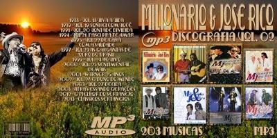 Discografia Milionário & José Rico Vol.2