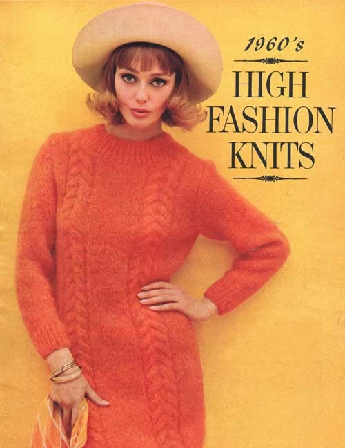 Mod and Mint: Vintage 1960s High Fashion Knit Outfits