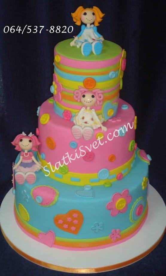lalaloopsy torta