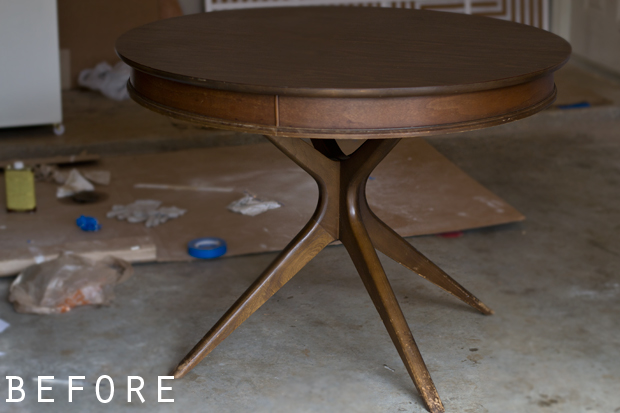 Mid Century Modern Table And Chairs | Before + After
