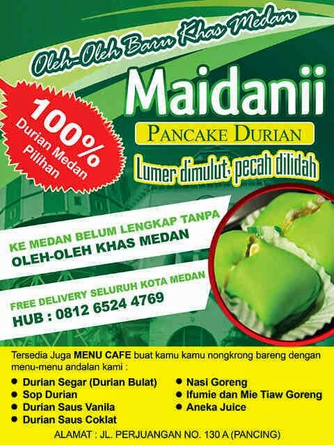 Maidanii Pancake Durian