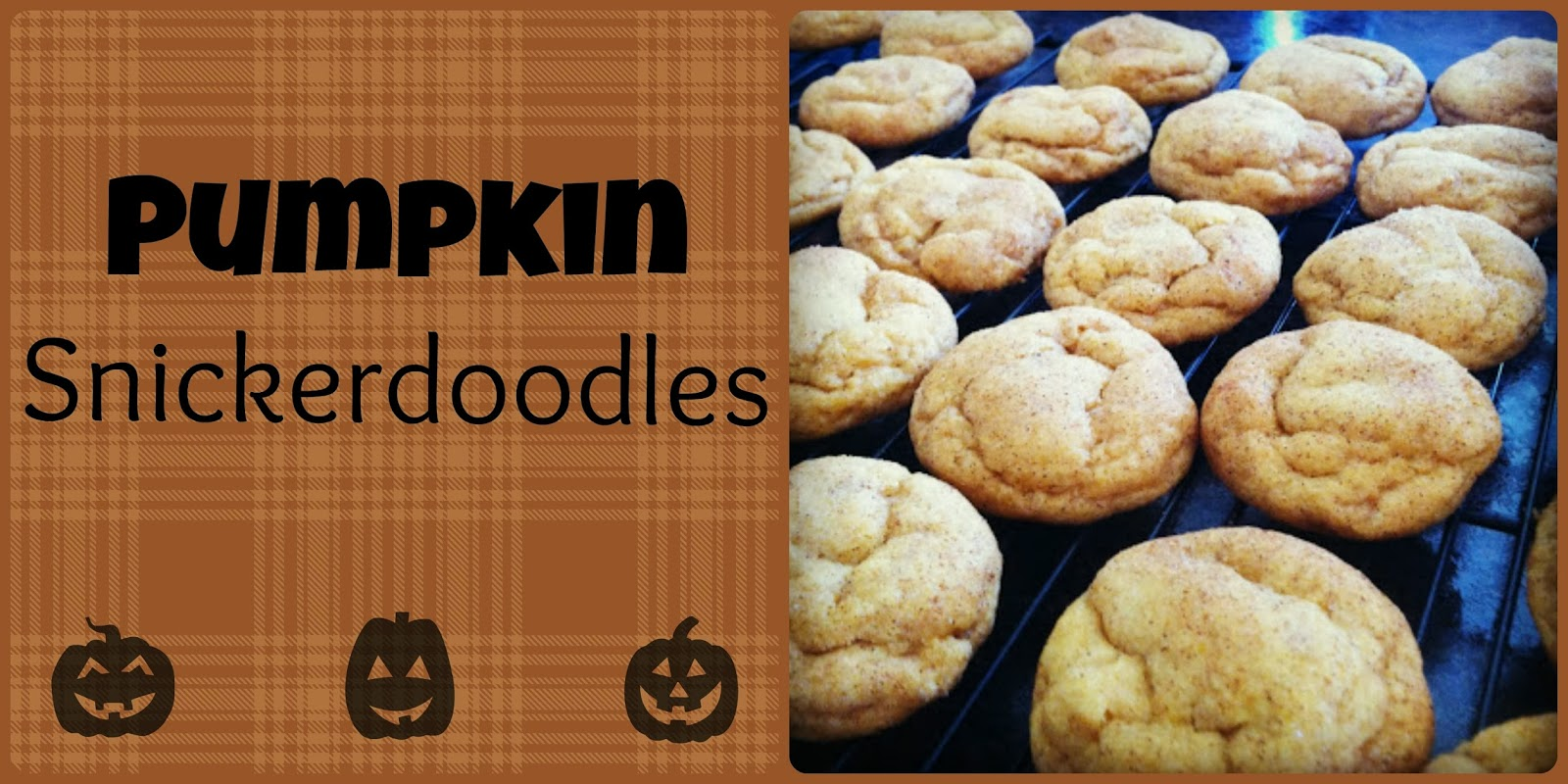 Pumpkin Snickerdoodles | Bits of Everything