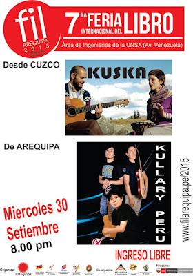 Kuska  en Arequipa 2015